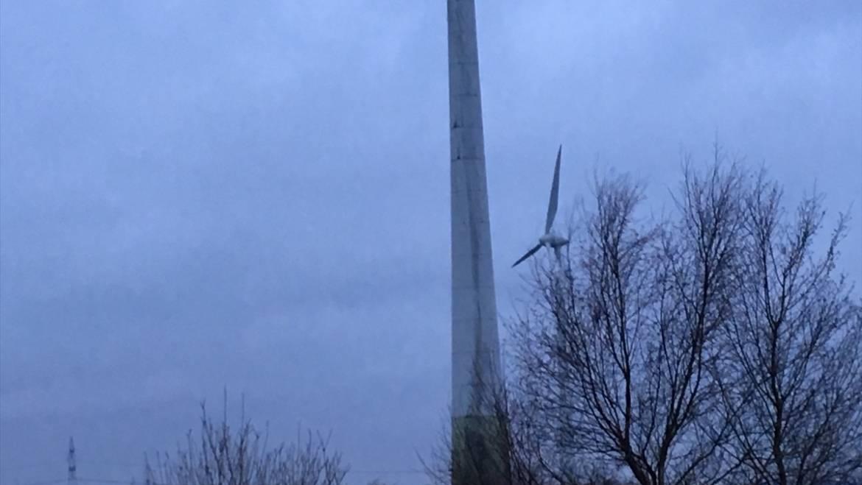 Einsatz Nr: 3 Brand Windkraftanlage